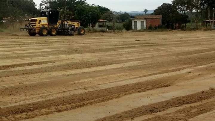 Prefeitura de Pedrão investe no esporte na zona rural.