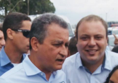 Prefeito Sosthenes Campos solicita recuperação da BA ao governador.