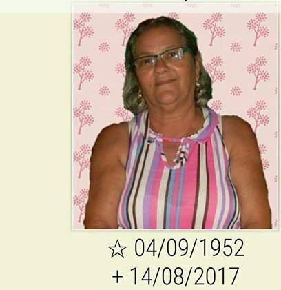 Convite para Missa de um mês  de Dona Rosália esposa de Guga de Vitor.