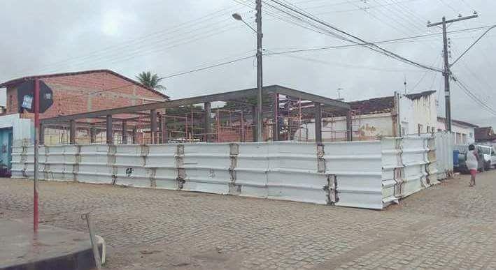 Prefeitura de Pedrão constrói sede própria da Secretaria de Educação