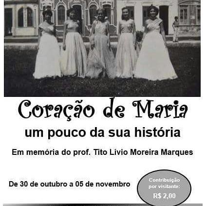 Exposição de fotos relata história da cidade de Coração de Maria.