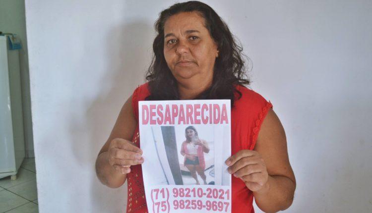 URGENTE: Família procura por jovem desaparecida em Conceição do Jacuípe