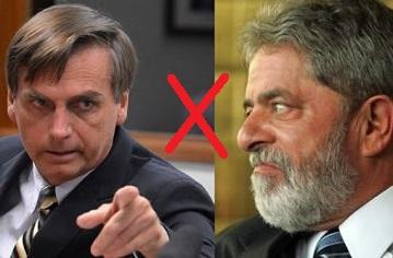 Lula e Bolsonaro lideram corrida para presidente em 2018