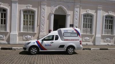 Prefeitura de Coração de Maria recebe nova ambulância do Governo do Estado