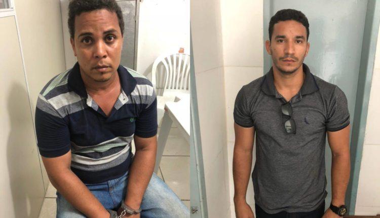 Dupla é presa suspeita de passar dinheiro falso no centro de Conceição do Jacuípe