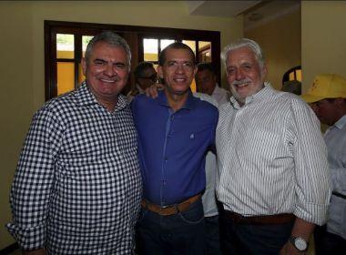 Prefeito Paim e diretório municipal do PT em Coração de Maria garantem apoio a Coronel