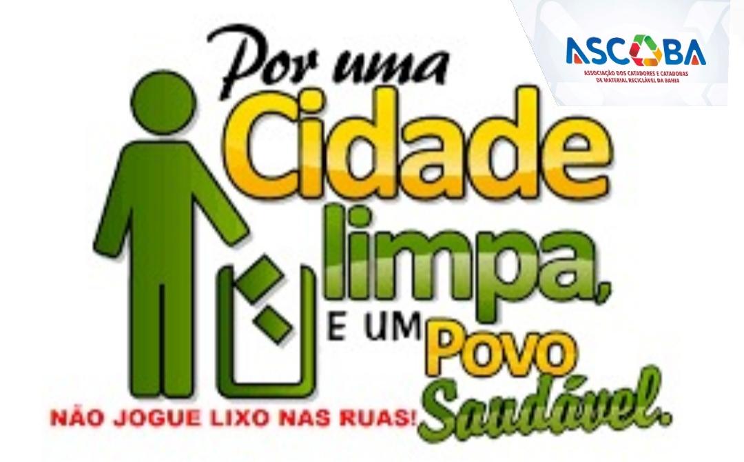 ASCOBA pede a colaboração da população de Coração de Maria para não jogar lixo e entulhos nas calçadas, ruas e áreas públicas