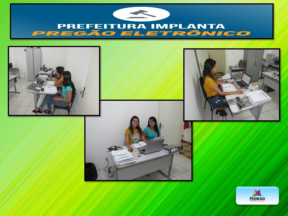 Prefeitura de Pedrão realiza pregão eletrônico.