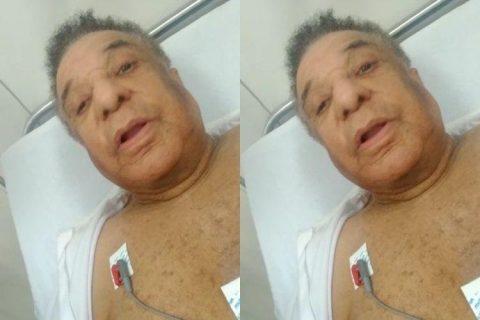 Agnaldo Timóteo piora e é transferido para UTI de hospital em Salvador