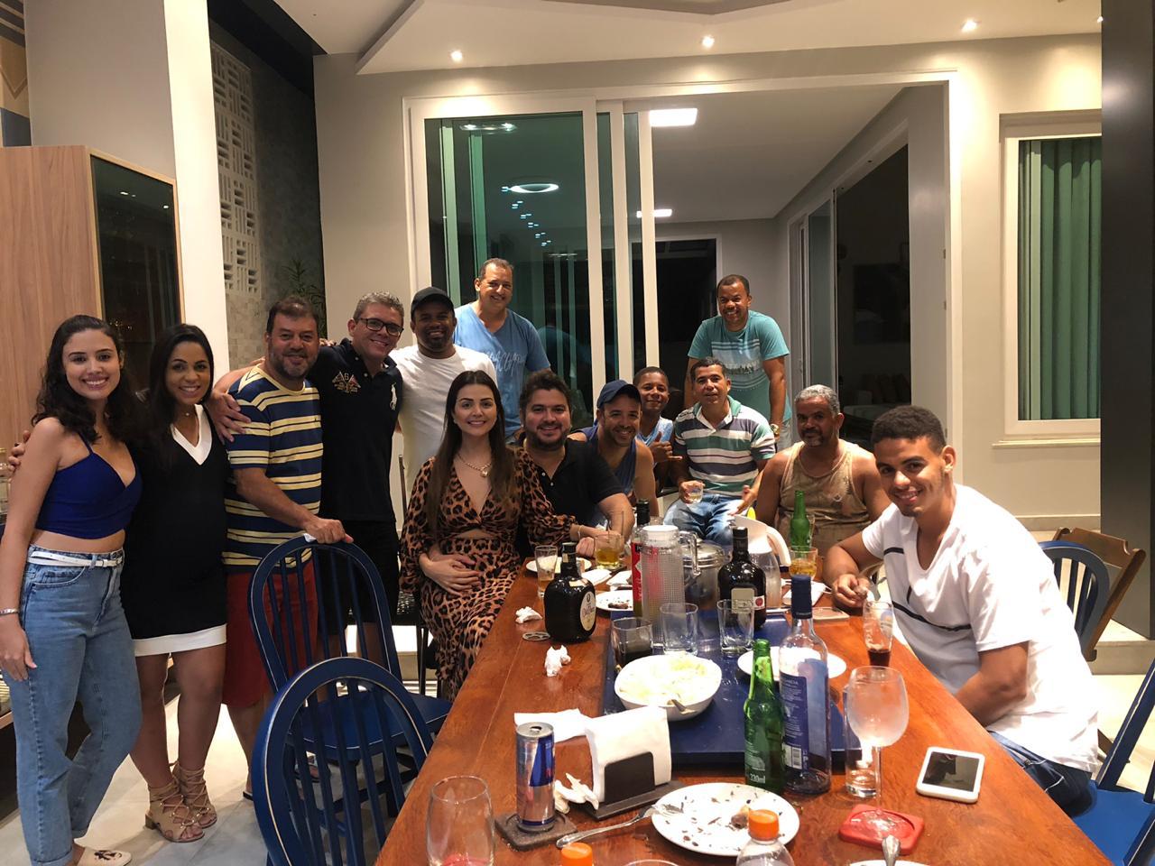 Deputado estadual Diego Coronel visita lideranças e amigos em Coração de Maria.