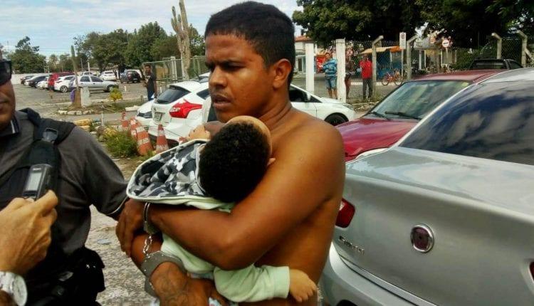 NO XILINDRÓ: Acusado de homicídio roubo e tráfico é preso após fazer criança refém