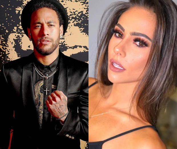 A FILA ANDOU: Neymar troca beijos com herdeira bilionária em festa
