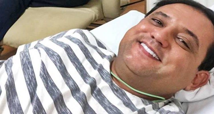 ALÍVIO: Geraldo Luis passa por cirurgia no coração: 'acabou o sofrimento'