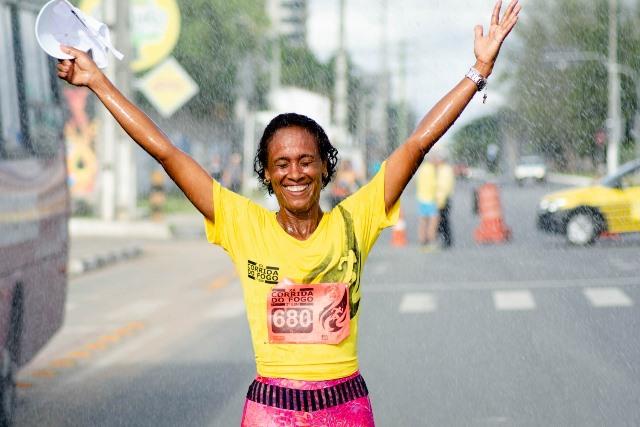 Berimbau: Primeiro lugar na prova feminina da Corrida do Fogo em Feira de Santana, Geiza Santos, Beterraba
