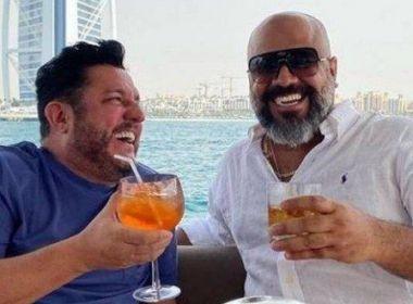 Dupla de Marrone, Bruno posa em Dubai com brasileiro acusado de golpes de R$ 500 milhões