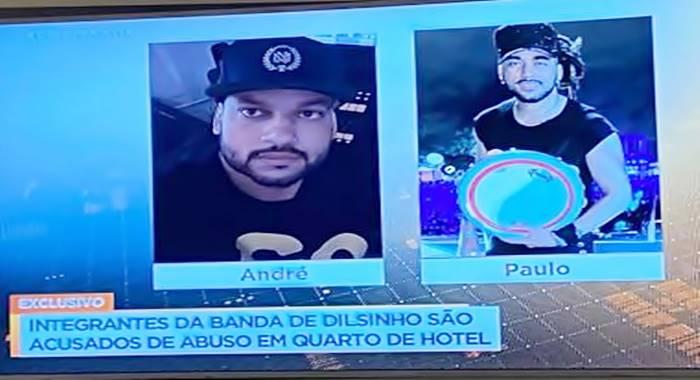 BOMBA! Membros da equipe do cantor Dilsinho são acusados de estupro em Santa Catarina
