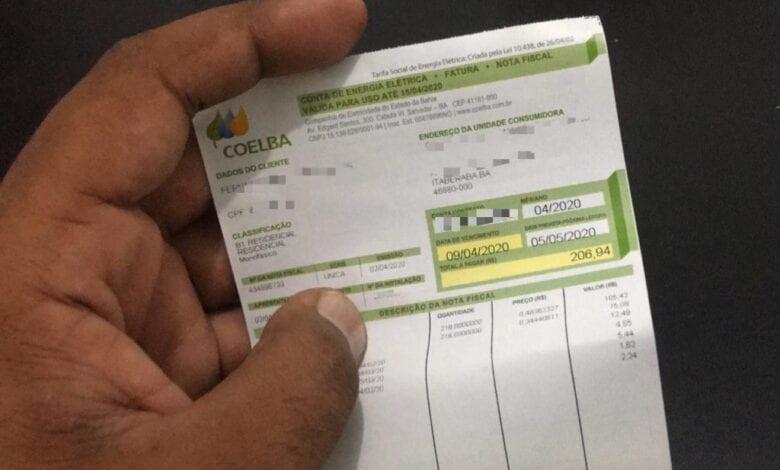 TAXAS ELEVADAS: Com risco de crise hídrica, Aneel anuncia nesta terça (29) aumento na conta de luz