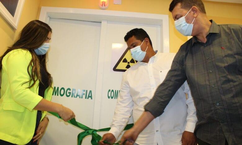 """""""Um sonho realizado"""", diz Gildo Baleia sobre inauguração de tomógrafo no Hospital Ângelo Martins"""