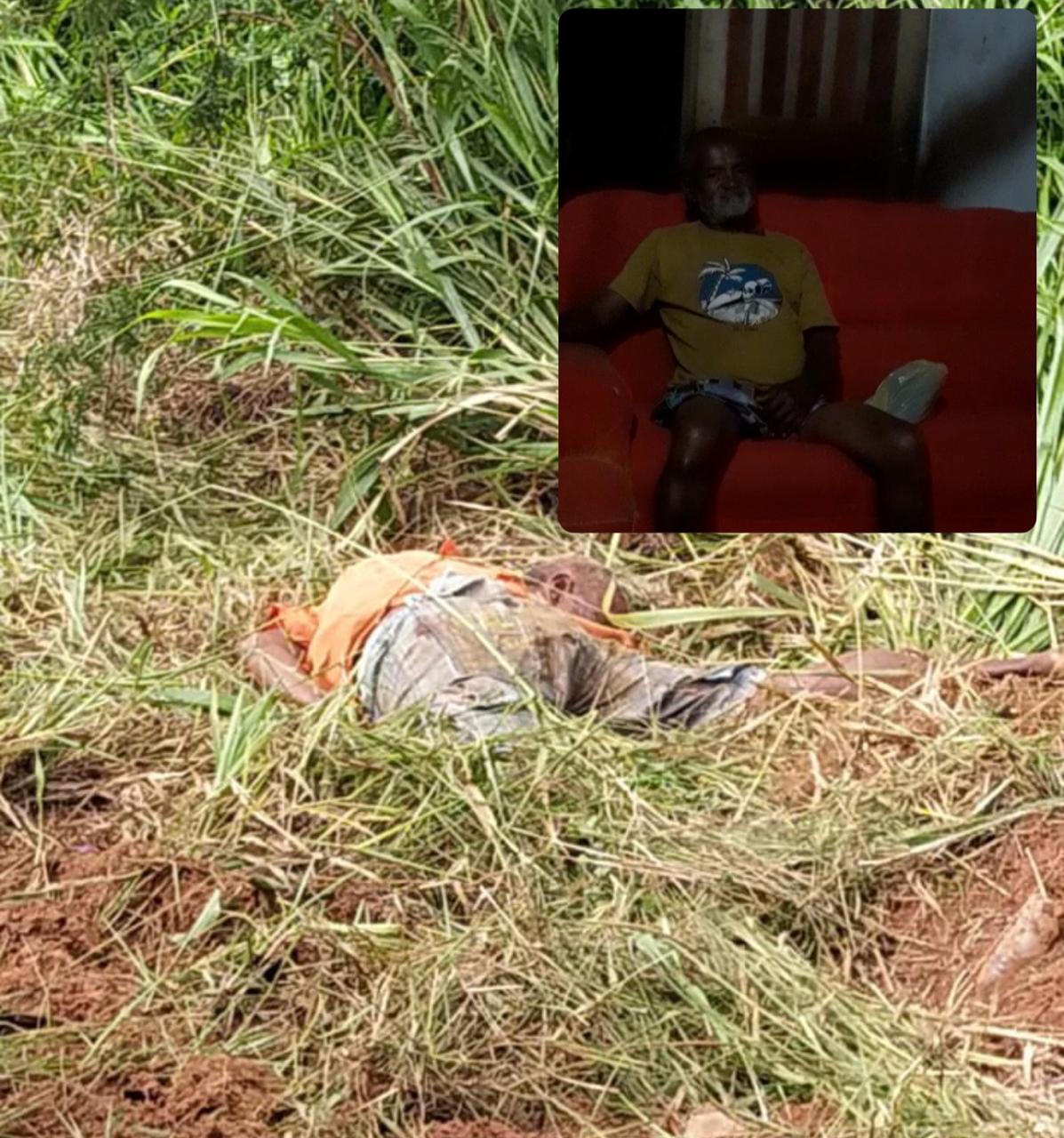 Andarilho morre atropelado na Zona Rural de Coração de Maria e motorista foge sem prestar socorro.