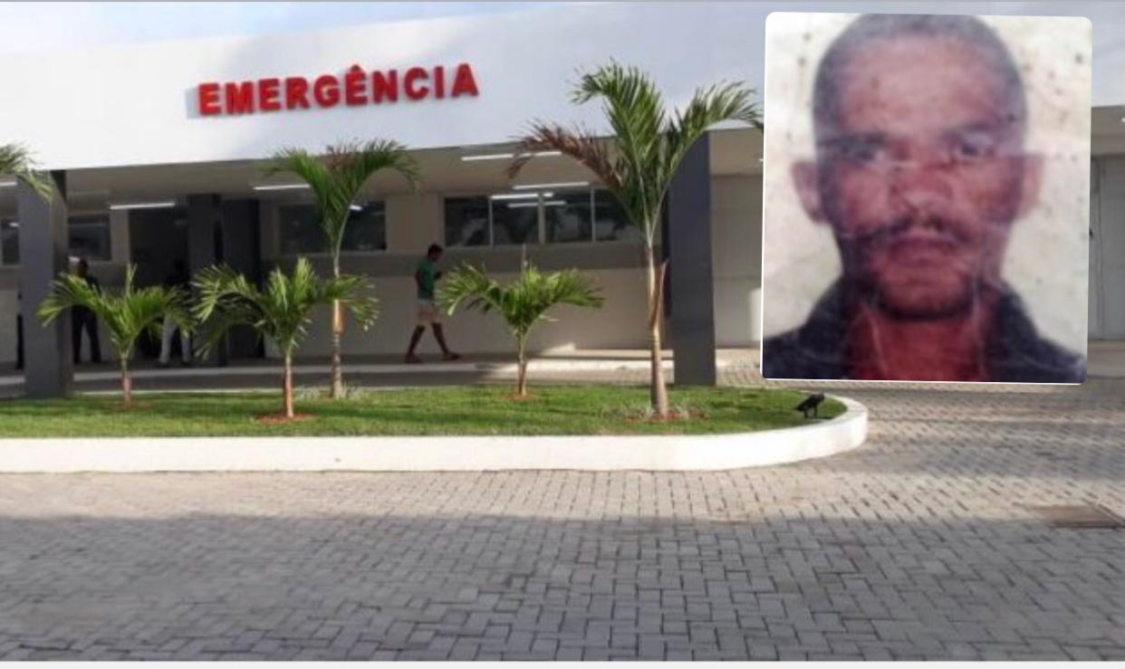 Morador do Retiro em Coração de Maria morre no HGCA após ser vítima de acidente de trânsito