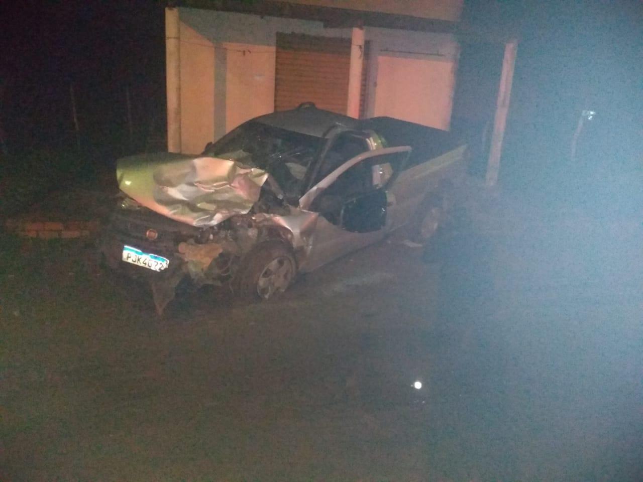 MÃO DE DEUS: Comerciante de Coração de Maria fica ferido após acidente de carro.