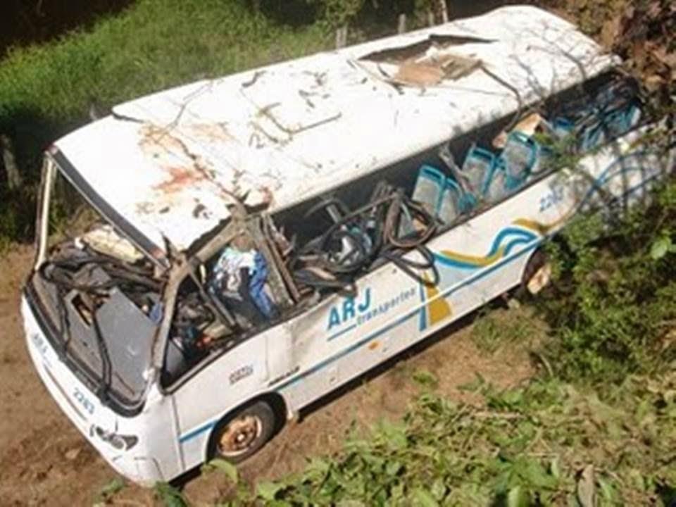 Acidente do Micro Ônibus da ARJ  em Coração de Maria  faz 12 anos sem nenhum punido