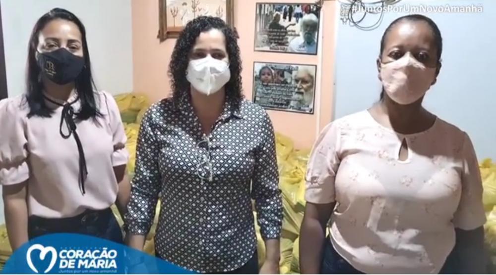 Prefeitura de Coração de Maria anuncia distribuição de kits de alimentação escolar