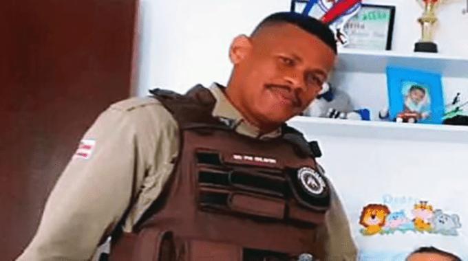 Policial militar morre após ter sido baleado durante uma festa