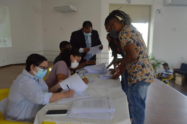 Prefeitura de Conceição do Jacuípe realiza assinatura de Termo de Compromisso dos estagiários